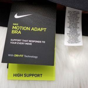 Nike Intimates & Sleepwear - Nike Motion Adapt High Support Sports Bra